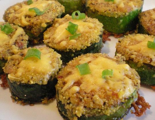 Daaaaaaad's Fried Zucchini