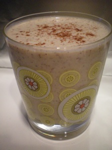 Cacao & Peanut Butter Oatmeal Smoothie