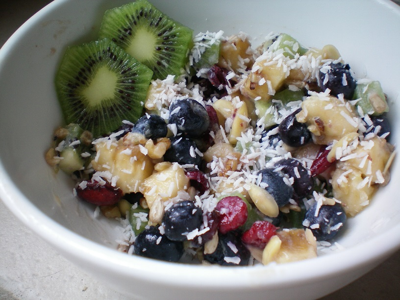 My Fruit & Nut Breakfast Bowl