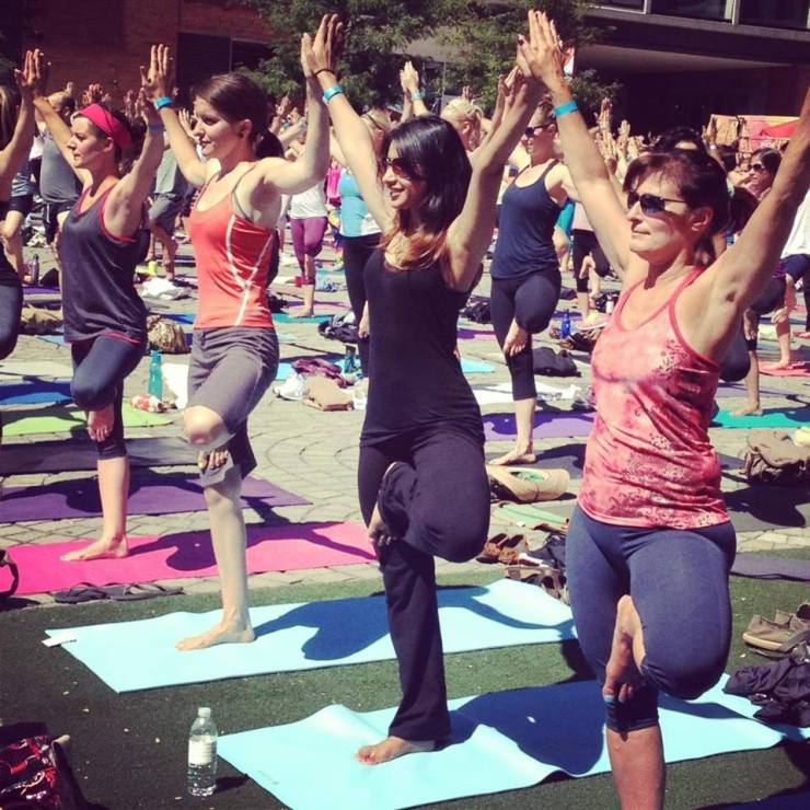 Wanderlust: Philly Yoga Block Party