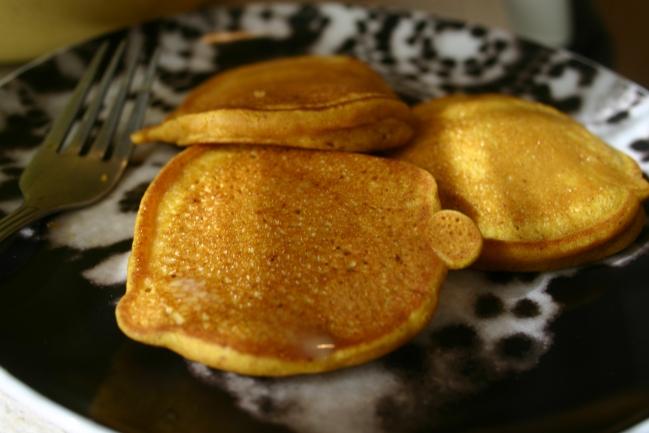 Gluten Free/ Dairy Free Pumpkin Pancakes | the gluten free yogi