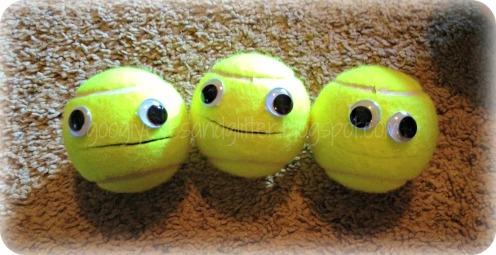 trigger tennis ball puppets 2