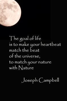 joseph campbell nature