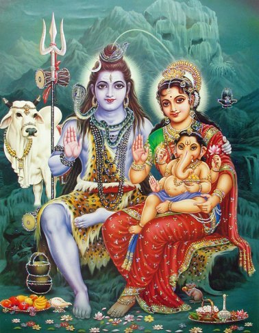 krishna and parvati
