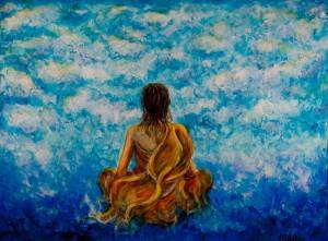 cloud meditation painting