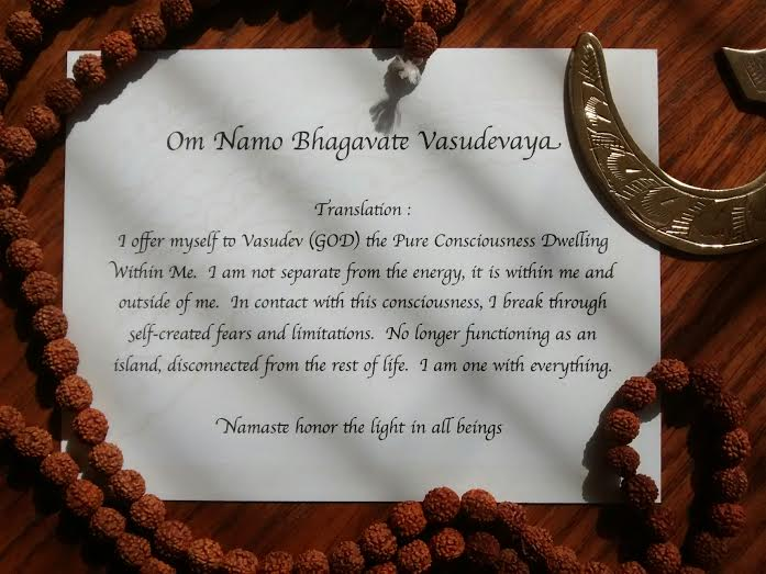 Om Namo Mantra