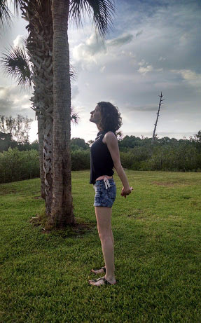 Standing Yoga Mudra Me 2